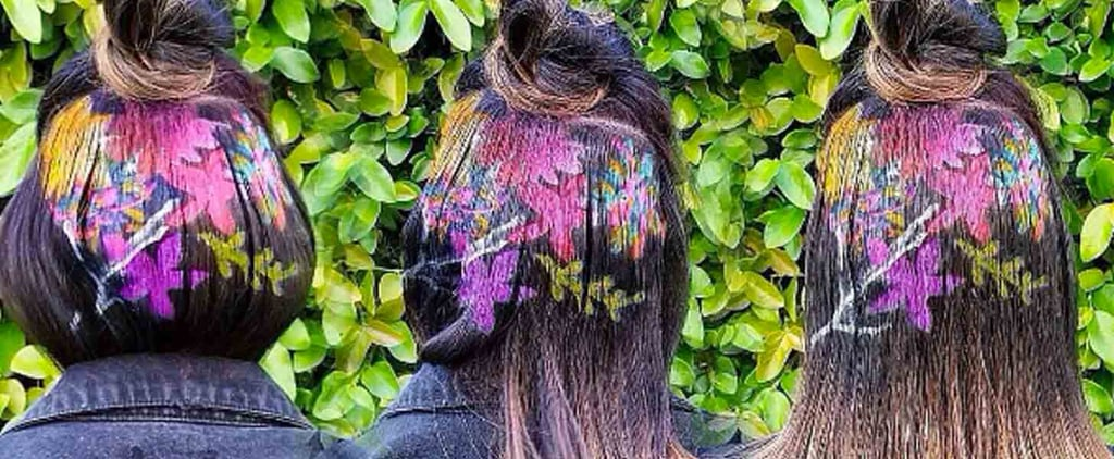 Graffiti Rainbow Hair Art Is So Hot Right Now on Instagram