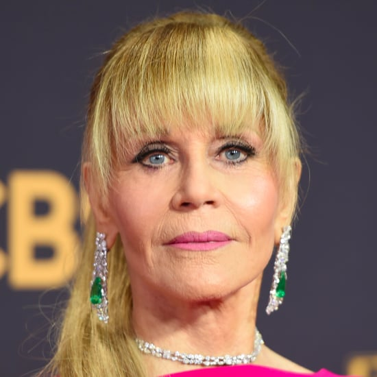 Jane Fonda's Hair at the 2017 Emmy Awards
