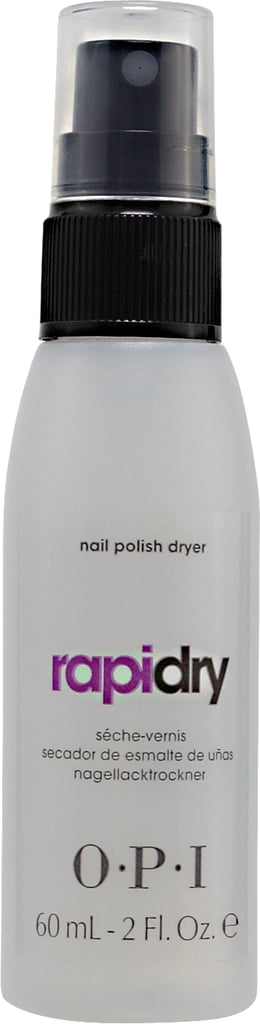 OPI Rapid Dry Nail Polish Spray ($17.95)