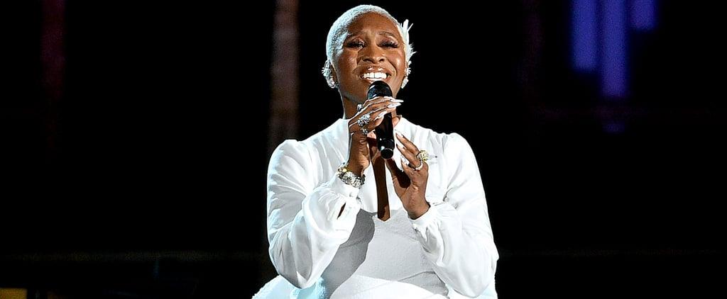 Cynthia Erivo's In Memoriam Performance at the Tonys Video