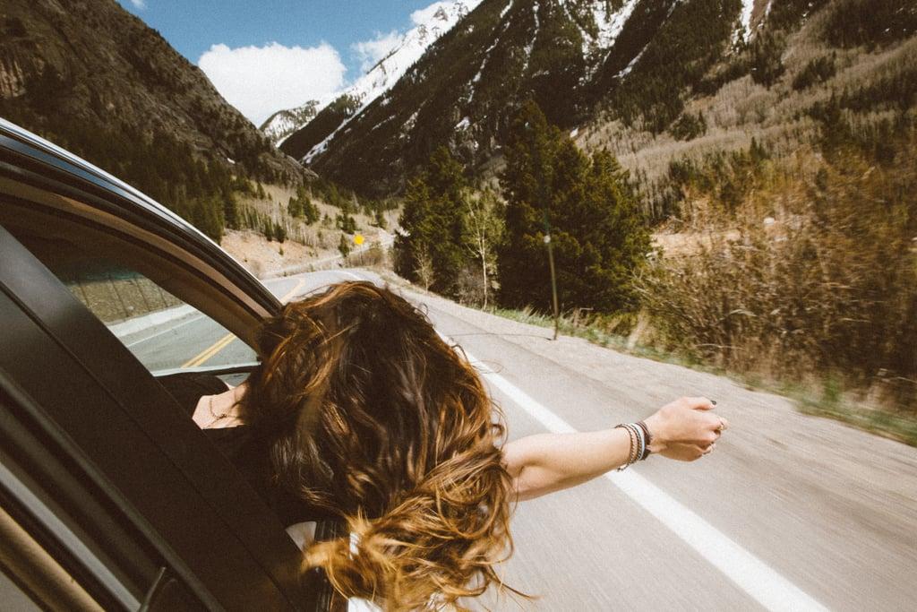 Drive around listening to music.