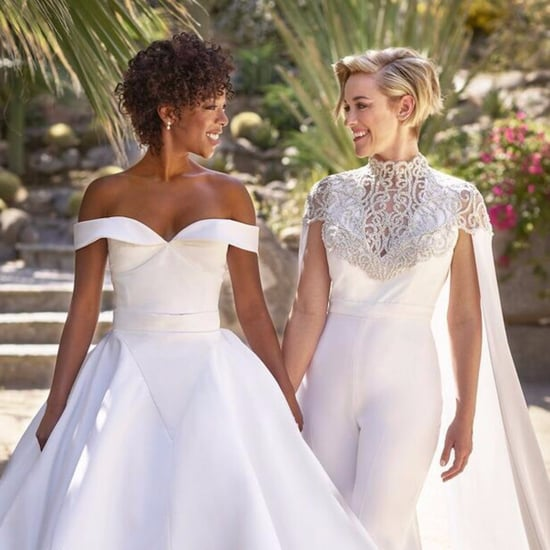 Samira Wiley's Wedding Dress