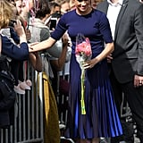 See More Photos of Meghan in Her Givenchy Look