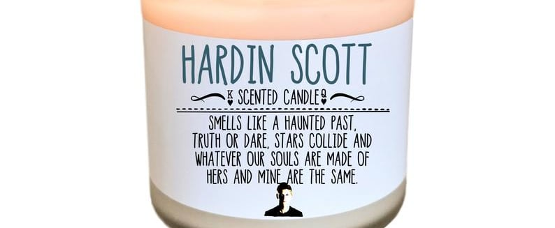 This Hardin Scott Candle Smells Like His Leather Jacket