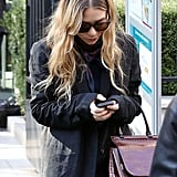 Ashley Olsen in Paris