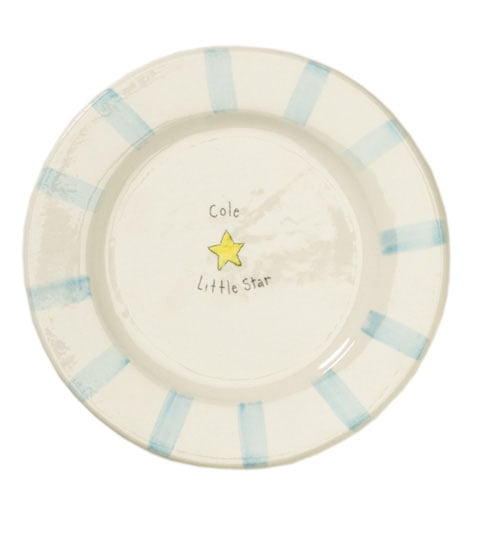 Personalized Plate