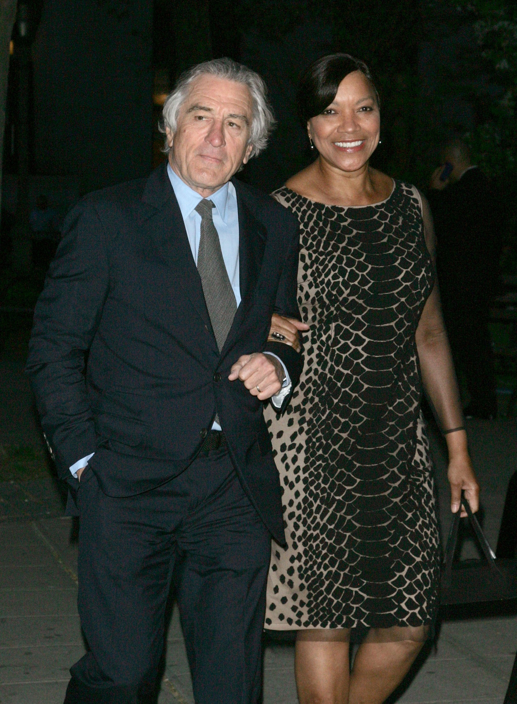 Robert De Niro and his wife Grace Hightower made their way ...