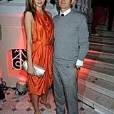 Miranda Kerr and Orlando Bloom in 2009