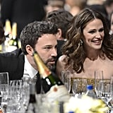 Nominee Ben Affleck sat next to his wife, Jennifer Garner.