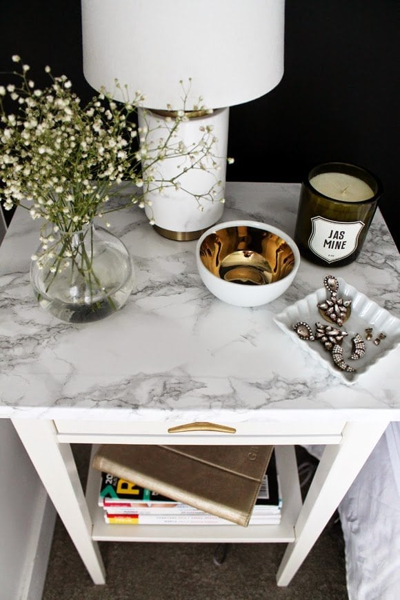 Marble Nightstand