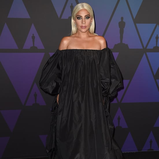 Lady Gaga Valentino Dress at Govenors Awards November 2018