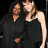 Jennifer Garner snapped a photo with Whoopi Goldberg at the event.