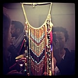 We swooned over the gorgeous bohemian jewels at Maje.