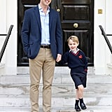 George's First Day of School 2017