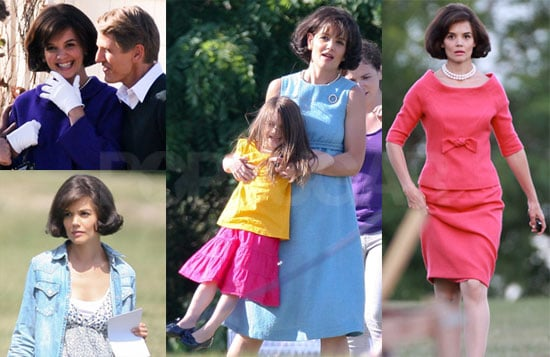 Katie and Suri Take a Spin in Toronto on the Set of The Kennedys