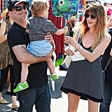 Selma Blair took her son, Arthur, to a farmers market in LA.