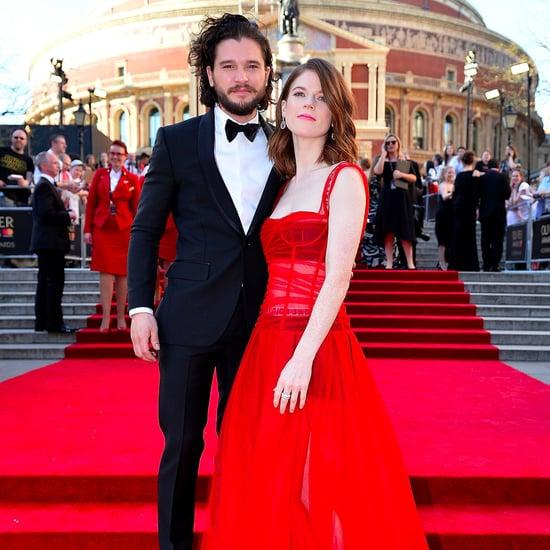 Kit Harington et Rose Leslie Olivier Awards 2017