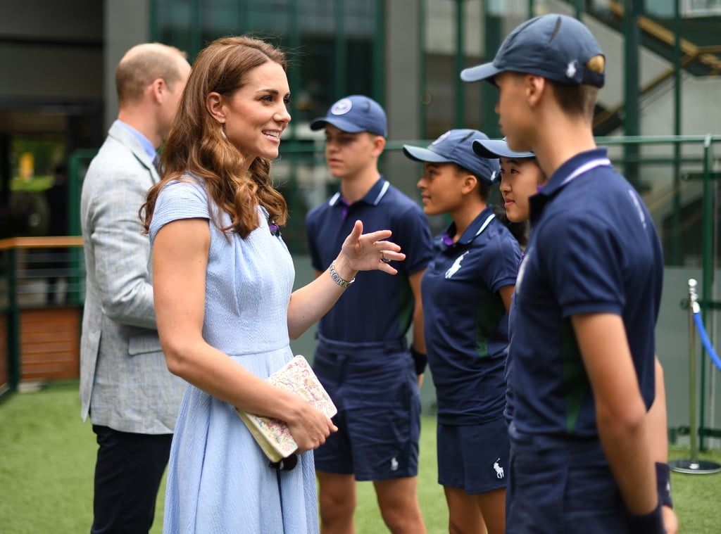 Prince William and Kate Middleton at Wimbledon 2019 Pictures