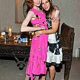 Jessica Joffe and Irene Neuwirth at Barneys' cocktail party celebrating the launch of Neuwirth's new fragrance in Venice, CA.