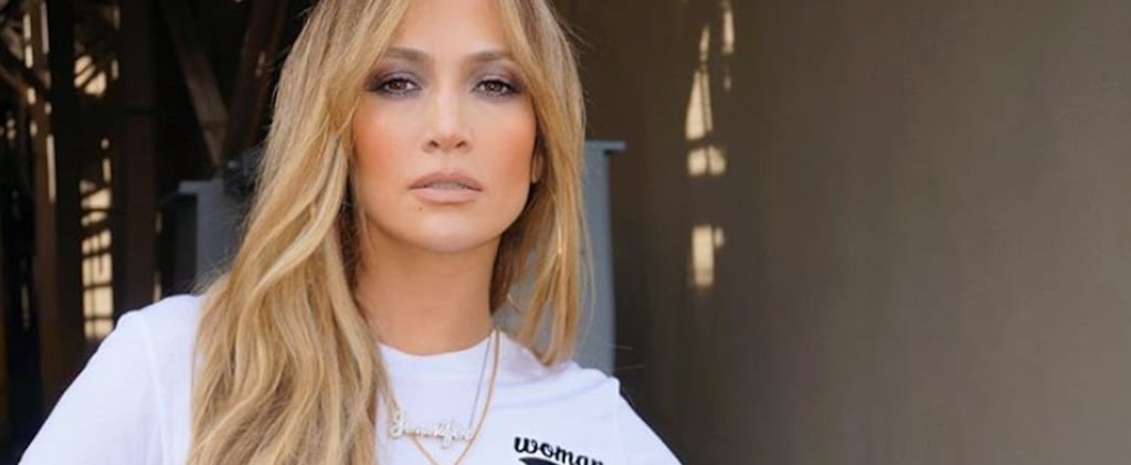 The Message on Jennifer Lopez's Little Cropped Tee Is Small but Mighty