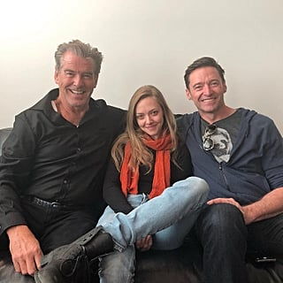 Pierce Brosnan Photo With Amanda Seyfried and Hugh Jackman