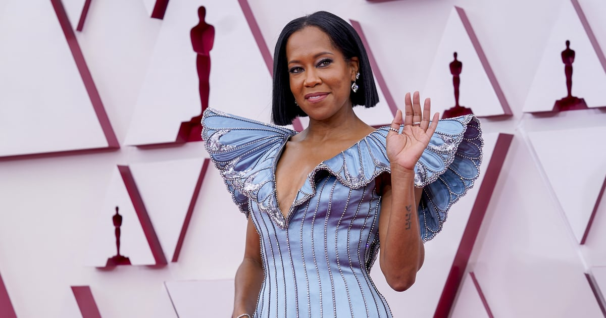 """Regina King Showed Up at the Oscars Wearing Spring's Sexiest Hair Trend: the """"Flob"""""""
