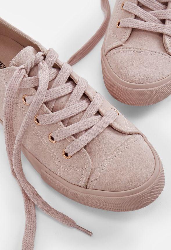 JustFab Morina Sneaker in Blush