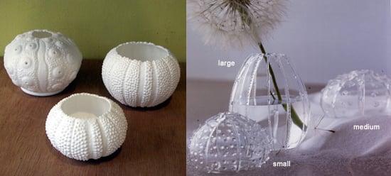 Summer Style Sea Urchins Vase And Votive Holder Popsugar Home