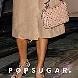 dd33ed7e75 ASOS Design Hacker Studded Heeled Sandals | Jennifer Lopez's ...