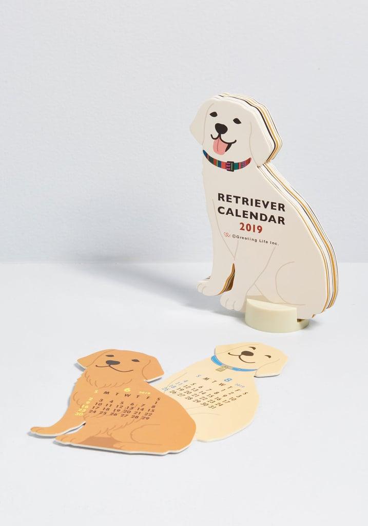 Year of the Critter 2019 Retriever Calendar