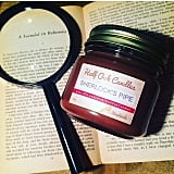 Sherlock's Pipe candle ($14) with tobacco and tart cherry notes