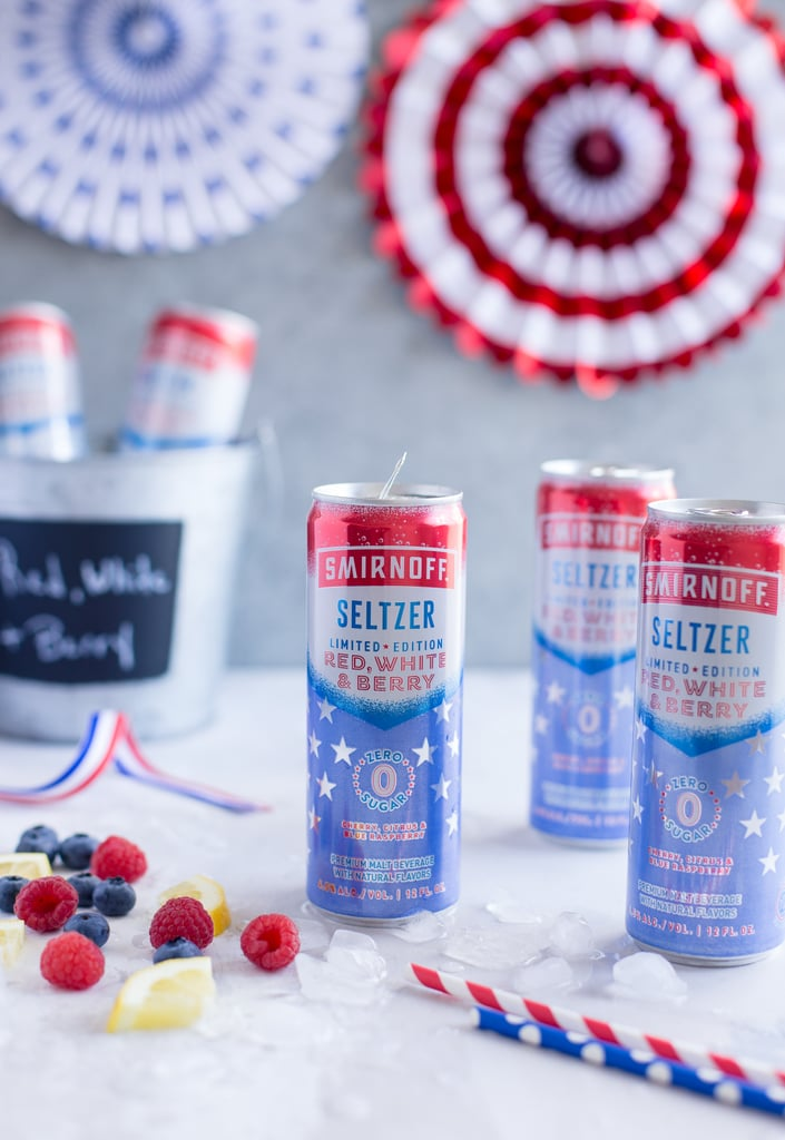 Smirnoff is bringing the sweet taste of berries to a brand-new boozy seltzer flavor. The brand recently announced that Smirnoff Seltzer Red, White, and Berry would be joining its ever-growing list of hard seltzers for the warmer months ahead, and it comes in an awesome new can design. The cans change from a silver to blue color and reveal bright patriotic stars when they're chilled and ready for consumption. When it comes to these Smirnoff Seltzer cans, seeing stars is a good thing! The Red, White, and Berry limited-edition seltzer is made with a sparkling blend of cherry, citrus, and blue raspberry flavors and does not have any artificial sweeteners. Each can is just 90 calories and contains zero sugar. The best part is, you don't have to wait until July to get your hands on these as they're available in stores now. In addition to the new hard seltzer flavor, the brand is bringing back its limited-edition Smirnoff Red, White, and Berry vodka and its Smirnoff Ice Red, White, and Berry flavor from years past. Check out the festive offerings ahead, and make sure to pick up a pack of the new seltzer on your next liquor store run. Cheers!      Related:                                                                                                           These Are the Top 10 Spiked Seltzers, Ranked From Best to Worst