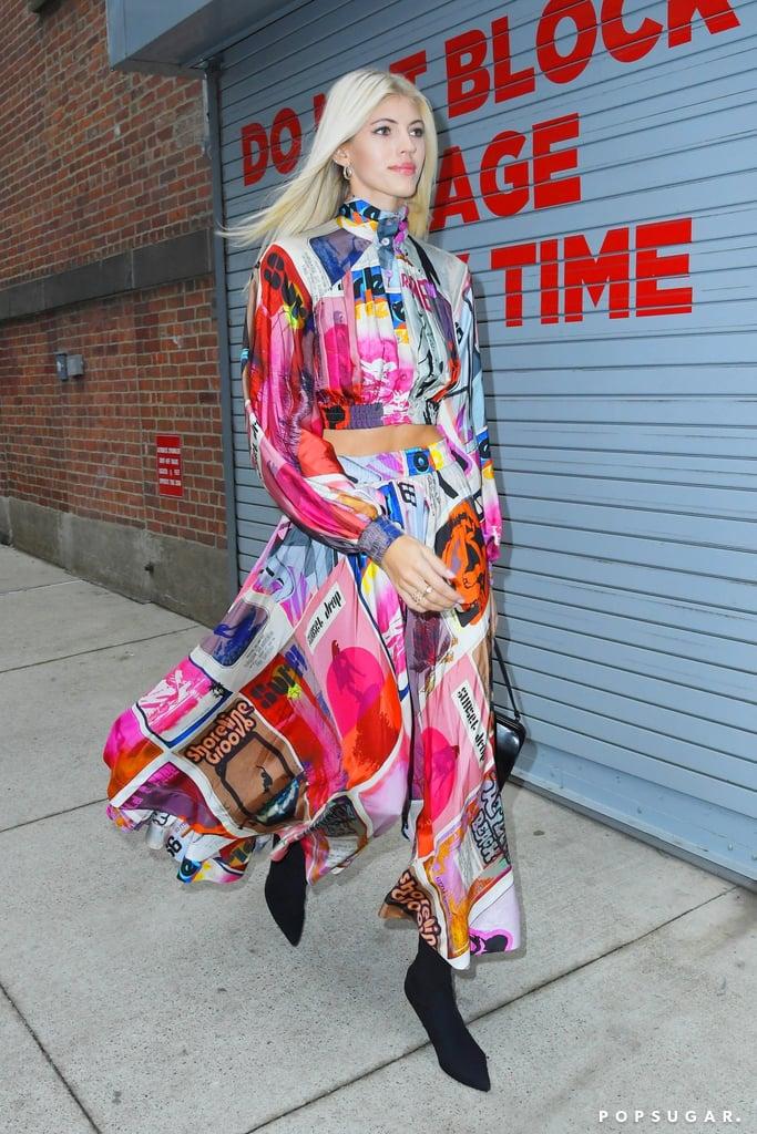 Devon Windsor's Street Style at New York Fashion Week