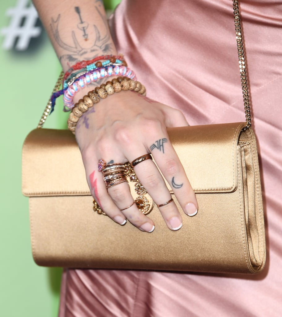 Paris Jackson's French Manicure
