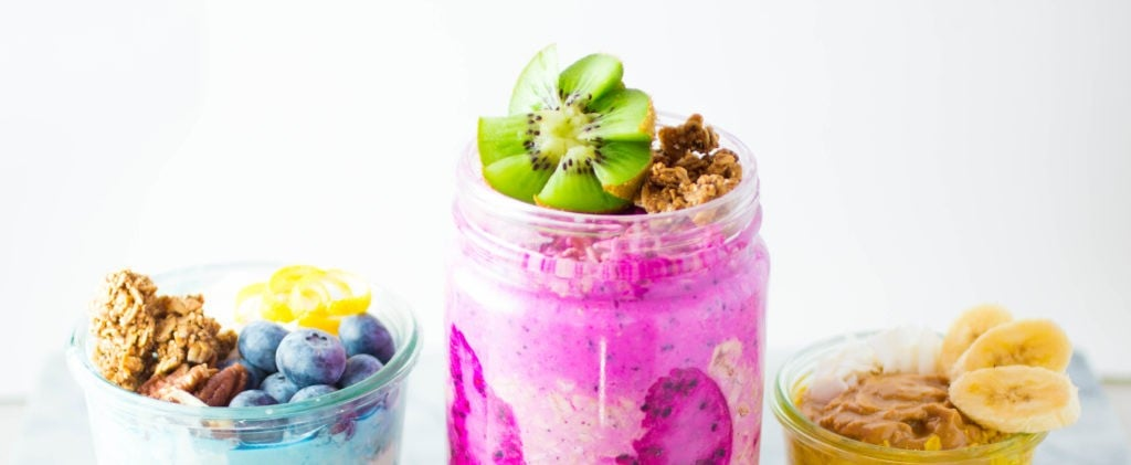 Eat Magically Delicious Unicorn Food For Breakfast With These Healthy Vibrant Oats