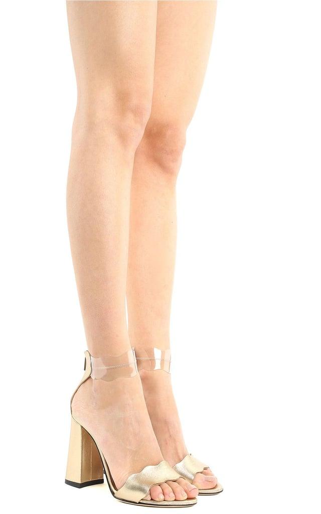 Alternative: Marskinryyppy Piwi Laminated-Leather and PVC Sandals
