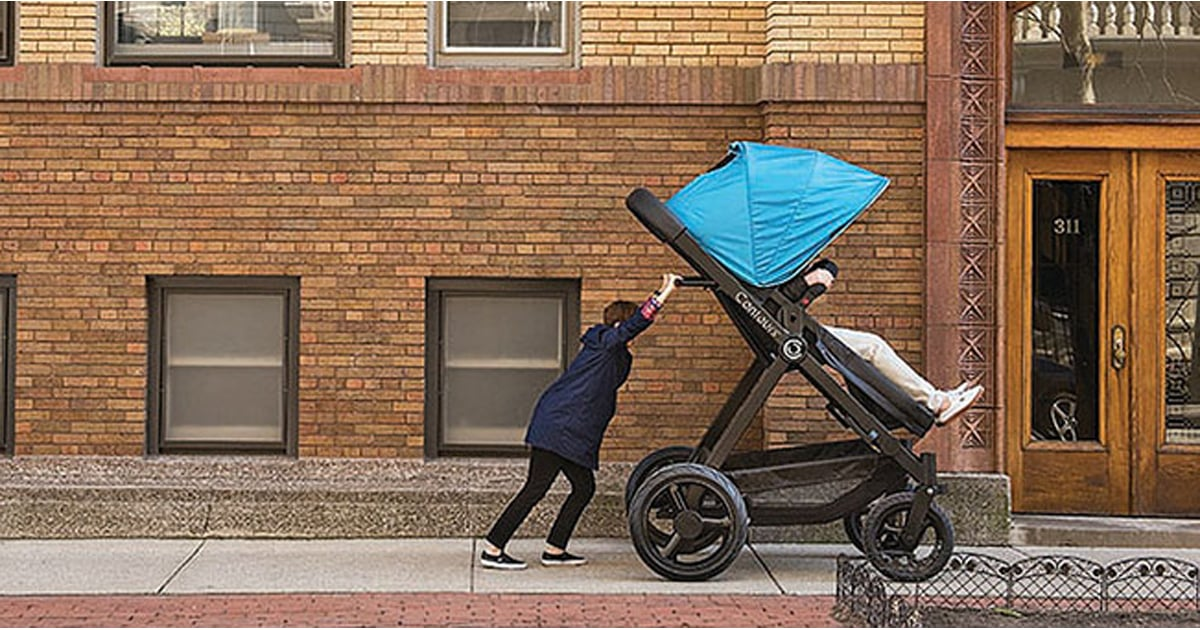 654ca92e716 Giant Adult-Size Stroller Lets Parents Test Out For Babies ...