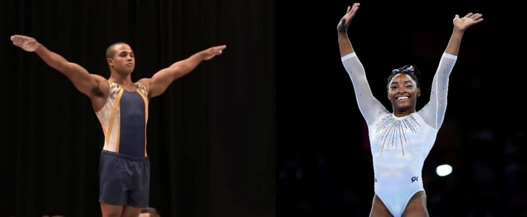 Simone Biles's Boyfriend, Stacey Ervin Jr., Is a Gymnast Too