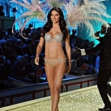 Adriana Lima wore next to nothing on the runway for the Victoria's Secret Fashion Show in November 2010 in NYC.