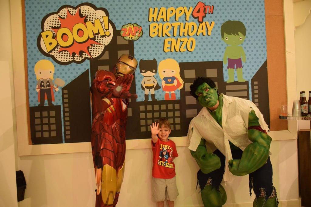 Superhero Themed Birthday Party Ideas Popsugar Family