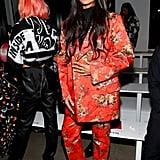 Jameela Jamil at the Jeremy Scott New York Fashion Week Show