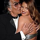 Roberto Cavalli and Jessica Simpson — 2007