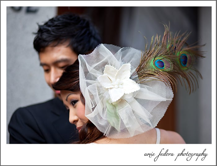 Peacock feathers: for the bride who wants all eyes on her. Source: Flickr user amiedefora