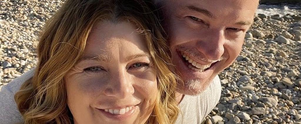 Ellen Pompeo and Eric Dane's Grey's Anatomy Reunion Selfie