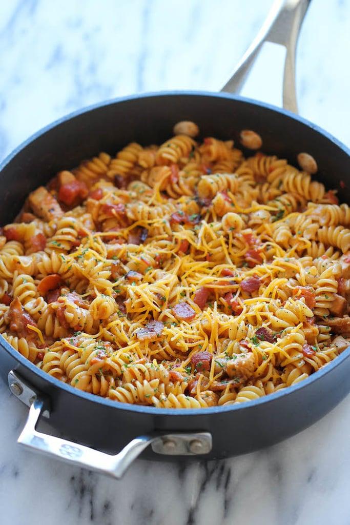 1-Pot Barbecue Chicken Pasta