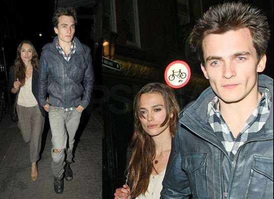 Photos of Keira Knightley and Rupert Friend