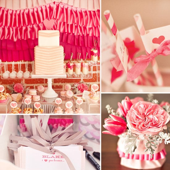 A Ruffles and Ribbon Baby Shower