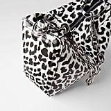 Zara Animal Print Bowling Bag