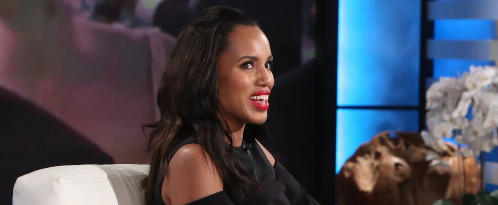 """Kerry Washington Realises How Close Scandal Is to Real Life Now, Too: """"It's So Surreal"""""""