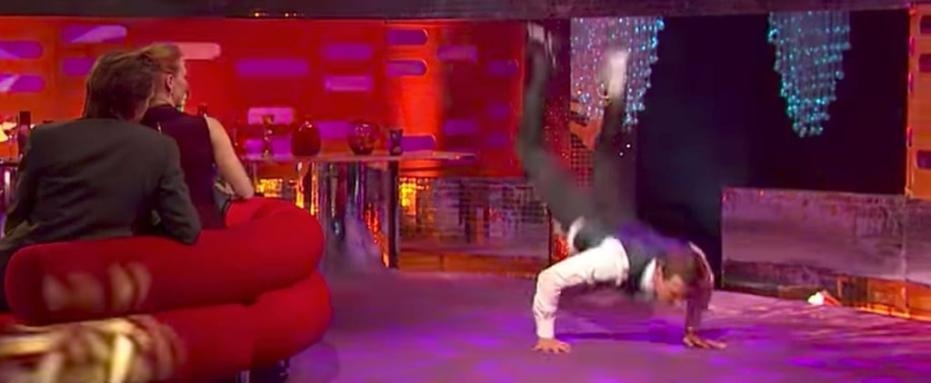 Watching Michael Fassbender Attempt to Breakdance Might Give You a Panic Attack